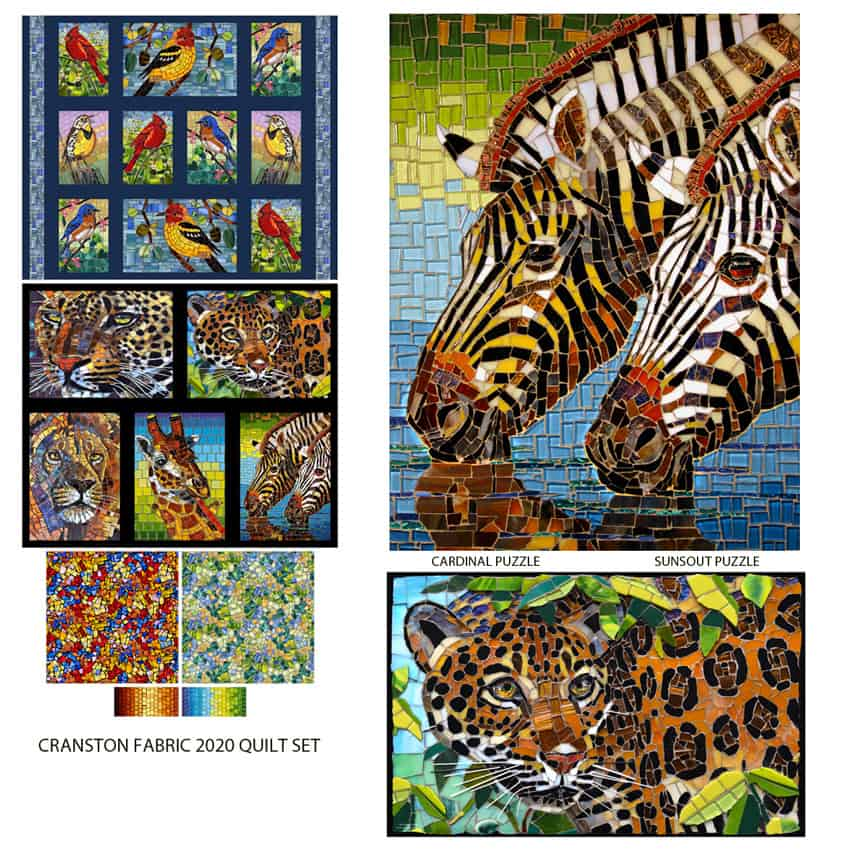 Cynthie Fsher glass mosaic art
