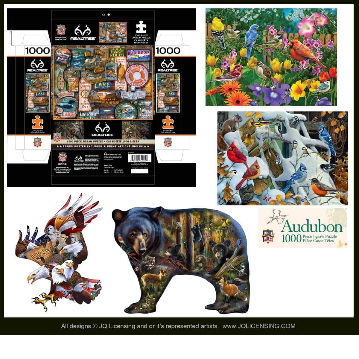 JQ Licensing -Masterpieces puzzle art